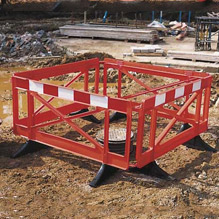 Pedestrian Barrier & Site Security Fencing