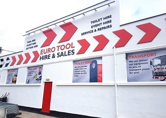 Euro tool's depot at St Austell